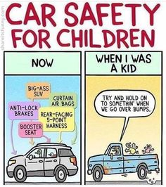 Car Safety For Children - https://shareitsfunny.com/car-safety-for-children/ - Funny Cartoons on  Share Its Funny  #carsafetyforchildren