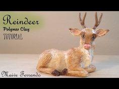 Realistic Reindeer Polymer Clay Tutorial