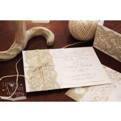 Lace Wedding Invitations Australia
