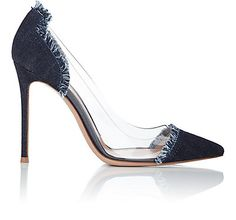 We Adore: The Cap-Toe Pumps from Gianvito Rossi at Barneys New York
