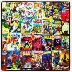 Marvel Comics Collage