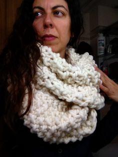 Bufanda de lana virgen de we are knitters