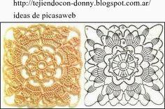 PATRONES - CROCHET - GANCHILLO - GRAFICOS: GRANNY