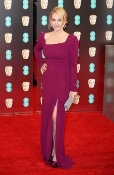 J.K. Rowling | All The Looks At The 2017 BAFTA Awards