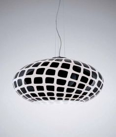 Contemporary pendant lamp (Murano glass)  TATTOO S by Marco Piva
