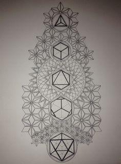 Sleeve tattoos, buddha tattoos, life tattoos, tattoos for guys, geometric m Geometric Tattoo Pattern, Geometric Tattoos Men, Geometric Mandala Tattoo, Sacred Geometry Tattoo, Geometric Patterns, Geometric Art, Pattern Tattoos, Mandala Tattoo Design, Tattoo Designs