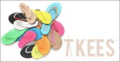 Tkees sandals make me want to be in the summer throughout a year. http://www.tkees.com/