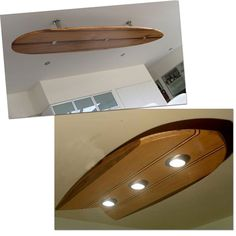 surfboards; surfboard lighting; wood surfboard ceiling lighting fixtures