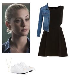 Betty Cooper - Riverdale by shadyannon on Polyvore featuring polyvore fashion style Dorothy Perkins LE3NO Converse EF Collection clothing