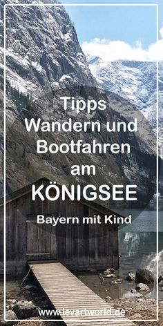 Boating and hiking on Königssee and Obersee in Bavaria with child Source by levartworld Travel With Kids, Family Travel, Travel Around The World, Around The Worlds, Reisen In Europa, Travel Companies, Germany Travel, Hiking Germany, Time Travel