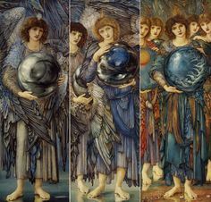 Edward Burne-Jones. The Days of Creation.