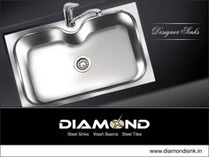 When your kitchen can look stylish, why can't your kitchen sink? Explore the complete range @ www.diamondsink.in #SteelSink #SteelKitchenSink #StylishSinks #DiamondSink #KitchenSink #Kitchen #Sink #DesignerSink