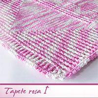 Receita Tapete Rosa I