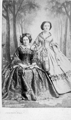 Sisters, c. 1850s.