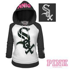 Chicago White Sox Victoria's Secret PINK® Raglan Pullover Hoodie - MLB.com Shop