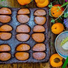 Gesunder Schokokuchen mit Aprikosen vegan zuckerfrei Chocolate Lovers, Carrots, Sausage, Low Carb, Gluten Free, Sweets, Meat, Vegetables, Breakfast
