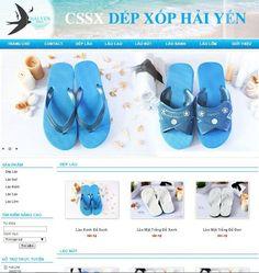 Mẫu thiết kế webite bán giày dép thời trang, giá thiết kế trọn gói 2tr #webgiaydep #thietkeweb