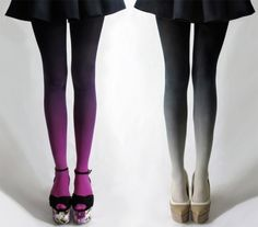 ombre tights.  yep want