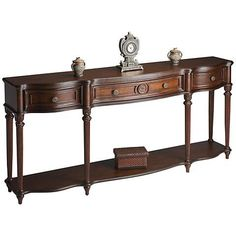 Madison Plantation Cherry Console - #3T571 | Lamps Plus