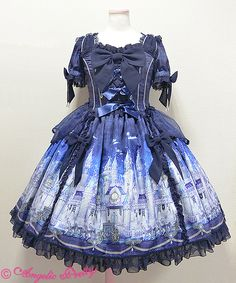 Angelic Pretty Castle Mirage OP Navy