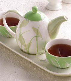 A Tea Set for Spring