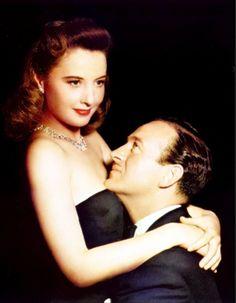 Barbara Stanwyck and David Niven