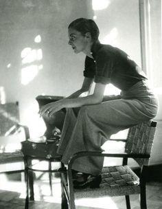 Marianne Breslauer Miss Moss Tomboy Fashion Breslauer Marianne Moss Foto Fashion, 1930s Fashion, Tomboy Fashion, Fashion History, Vintage Fashion, Ladies Fashion, Womens Fashion, Fashion Outfits, Feminine Fashion