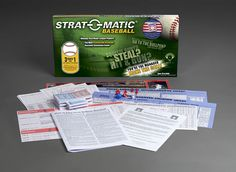 New product photo for Strat-O-Matic Baseball Hall of Fame Game (2015)