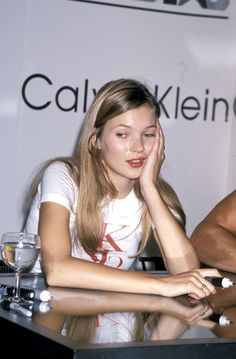 Kate Moss for Calvin Klein back in 1994