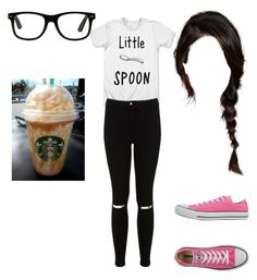 """""""6 day till school starts"""" by imjusttryingtobemyself ❤ liked on Polyvore featuring Miss Selfridge and Converse"""