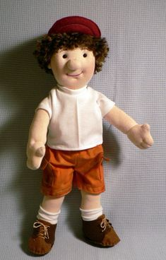 ~ MorrisseyDolls Patterns ~    Fun doll to make and even more fun to play with! Zach is about 15 inches tall, with cute button eyes and yarn hair.