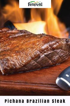 Beef Steak, Bbq Beef, Baked Bean Recipes, Roast Recipes, Steak Recipes, Picanha Recipe Oven, Sirloin Cap Roast Recipe, Brazilian Picanha Recipe, Recipes