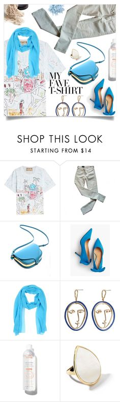 """Dress Up a T-Shirt"" by ezgi-g ❤ liked on Polyvore featuring Marni, Citizens of Humanity, Talbots, Clips, MANGO, Avène, Ippolita, Suoli, polyvorecontest and MyFaveTshirt"