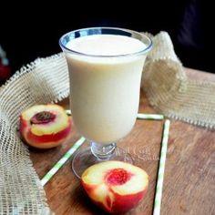 Skinny Peaches & Cream Milkshake