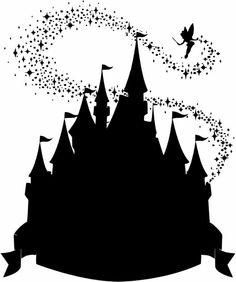 Siluetas de Princesas Disney.                                                                                                                                                      Más