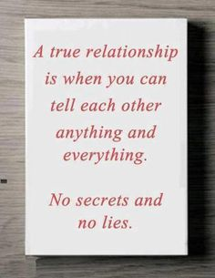 It's unfortunate the amount of fake/shallow relationships we cultivate. Every relationship you have, of every kind, should be open, honest, and accepting.