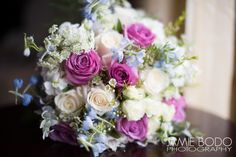 Lay the bouquet down