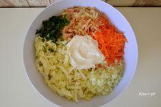 Obłędna surówka - Knurr.pl Cabbage, Rice, Salad, Vegetables, Food, Essen, Cabbages, Salads, Vegetable Recipes