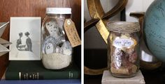 Great craft ideas for keeping vaca mementos out of random drawers and out where they belong.