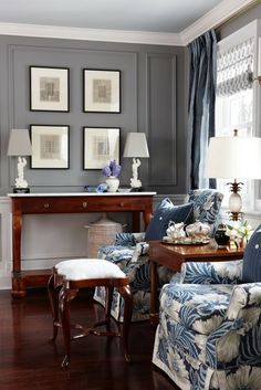 Follow These Decorating Rules And You'll Be In Deep Doo Doo | beautiful living room by Sarah Richardson. Two side by side chairs