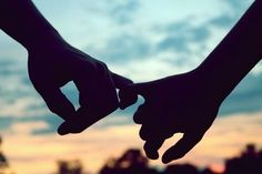 Please promise me that no matter what happens, you'll never let go.