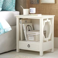 Elsie Bedside Table | PBteen; this is the closest I've found to a bungalow 5 dresser without the $$$.  Problem is, I think it's pretty small.  You would have to measure.