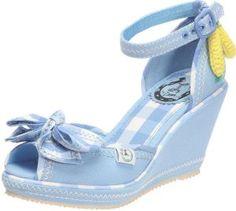 Monterrey 50s Shoe -Cobalt Blue-repro miss bamboo