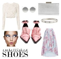 """""""Je t'aime"""" by nina-ann on Polyvore featuring Marques'Almeida, Clinique, A.L.C., Monsoon, Cartier and Marc Jacobs"""