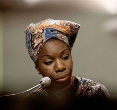 the incomparable Nina Simone...
