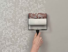rolos de pintura que criam estampas
