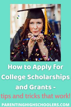 """""""How To Win Scholarships"""" Program vs Looking On Your Own Financial Aid For College, Scholarships For College, College Classes, College Hacks, Common App Essay, Apply For College, School Survival Kits, College Search, Parenting Teens"""
