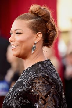 Pin for Later: Let These Celebrities Inspire Your Bridal Hairstyle Queen Latifah