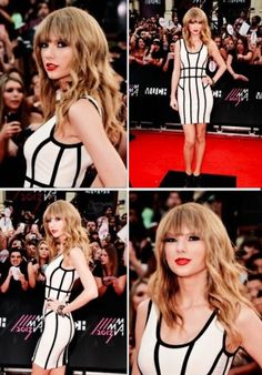 Ok. I'm sorry. But take a look in the bottom left square. Look at the guy behind Taylor, his face!