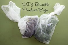 Made something like this, works GREAT.. DISike plastic produce bags grrrrr..Naturally Chic Mama: DIY Reusable Produce Bags